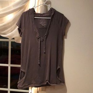 Gap shortsleeved hooded tunic